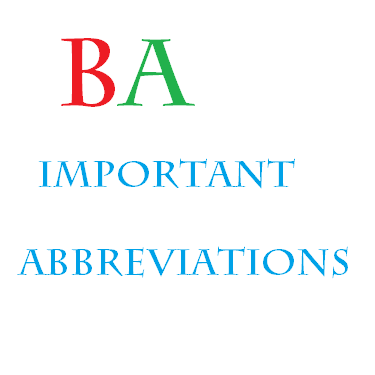 List_of_Abbreviations_for_Banking_Exam