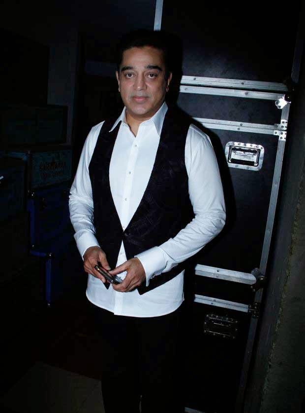 Kamal Hassan at 61st Idea Filmfare Awards 2013 (South)