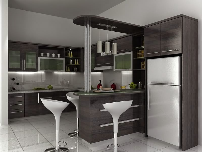 Furniture Dapur Rumah Minimalis Modern 2015