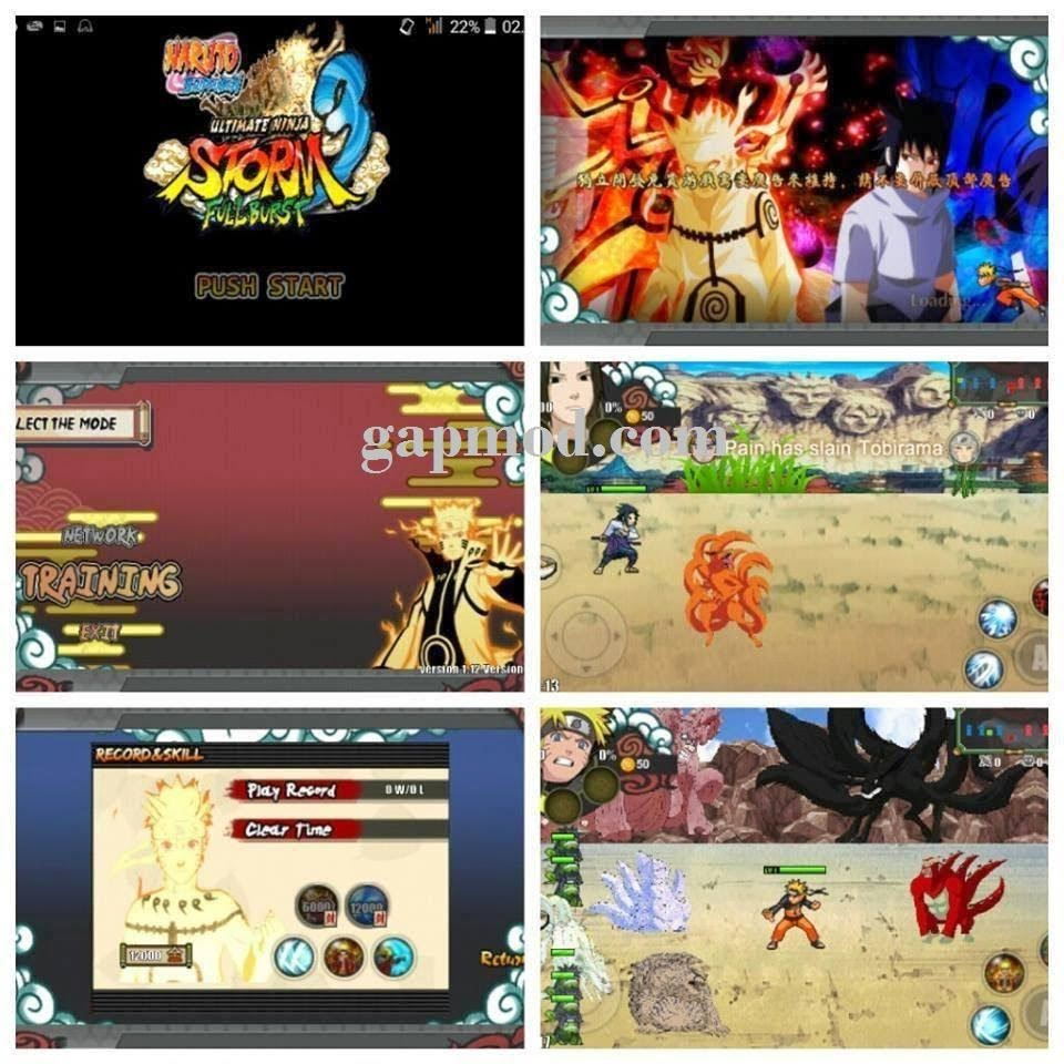 Download Naruto Shippuden Ultimate Ninja Storm Full Burst APK