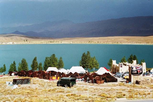 Lago Isli y Tislit en Imilchil
