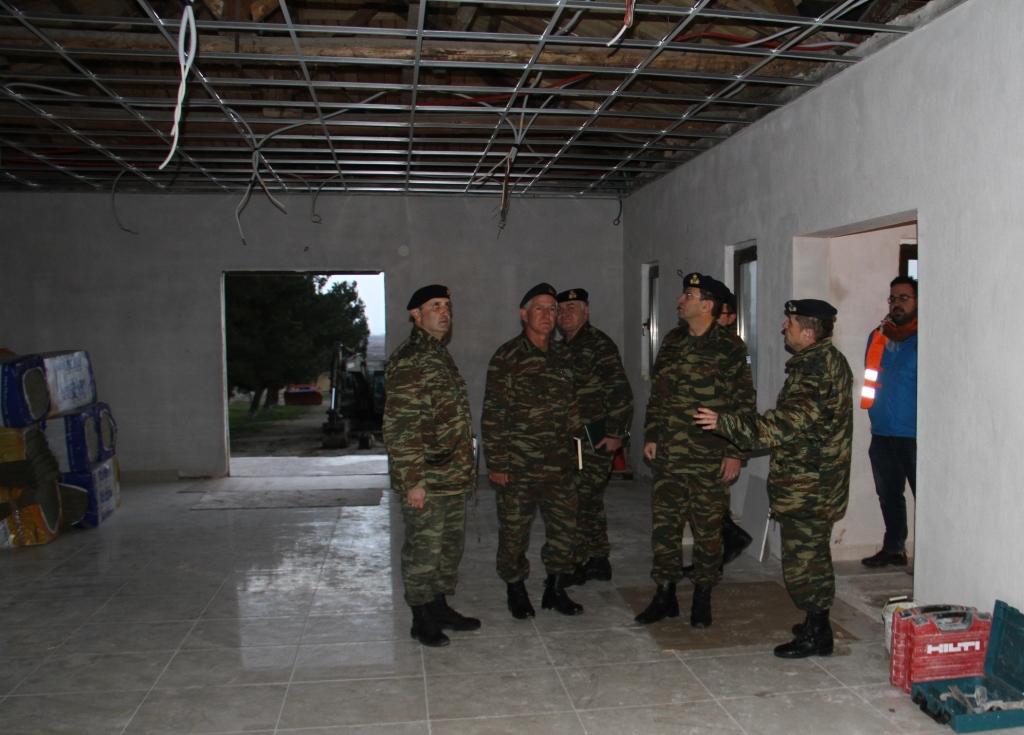 Την κατασκευή σπιτιών για τους ΕΠΟΠ στην Αλεξανδρούπολη, επιθεώρησε ο Α/ΓΕΣ