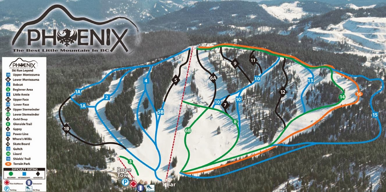 Phoenix Mountain Ski Resort, British Columbia - Where is the Best Place for Skiing And Snowboarding in Canada