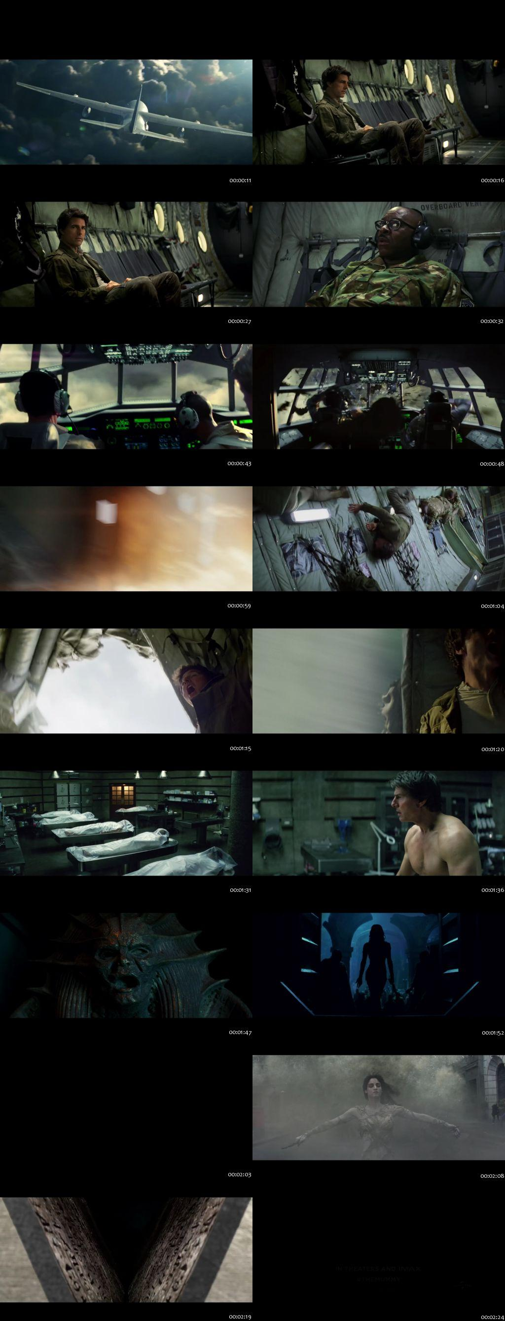 Screenshots Of The Mummy 2017 Theatrical Official Trailer Free Download HD 720P