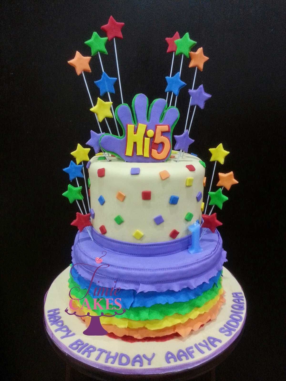 Timie Cakes Hi 5 Theme Birthday Party