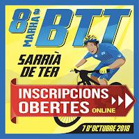 INSCRIPCIONS 8ª MARXA BTT SARRIA