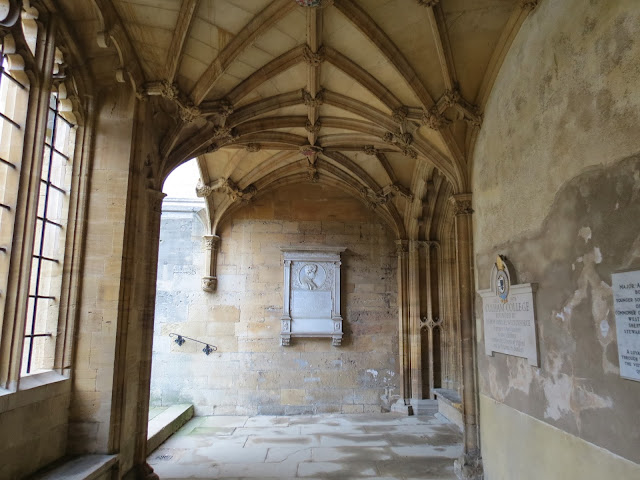 Christ church college corridor