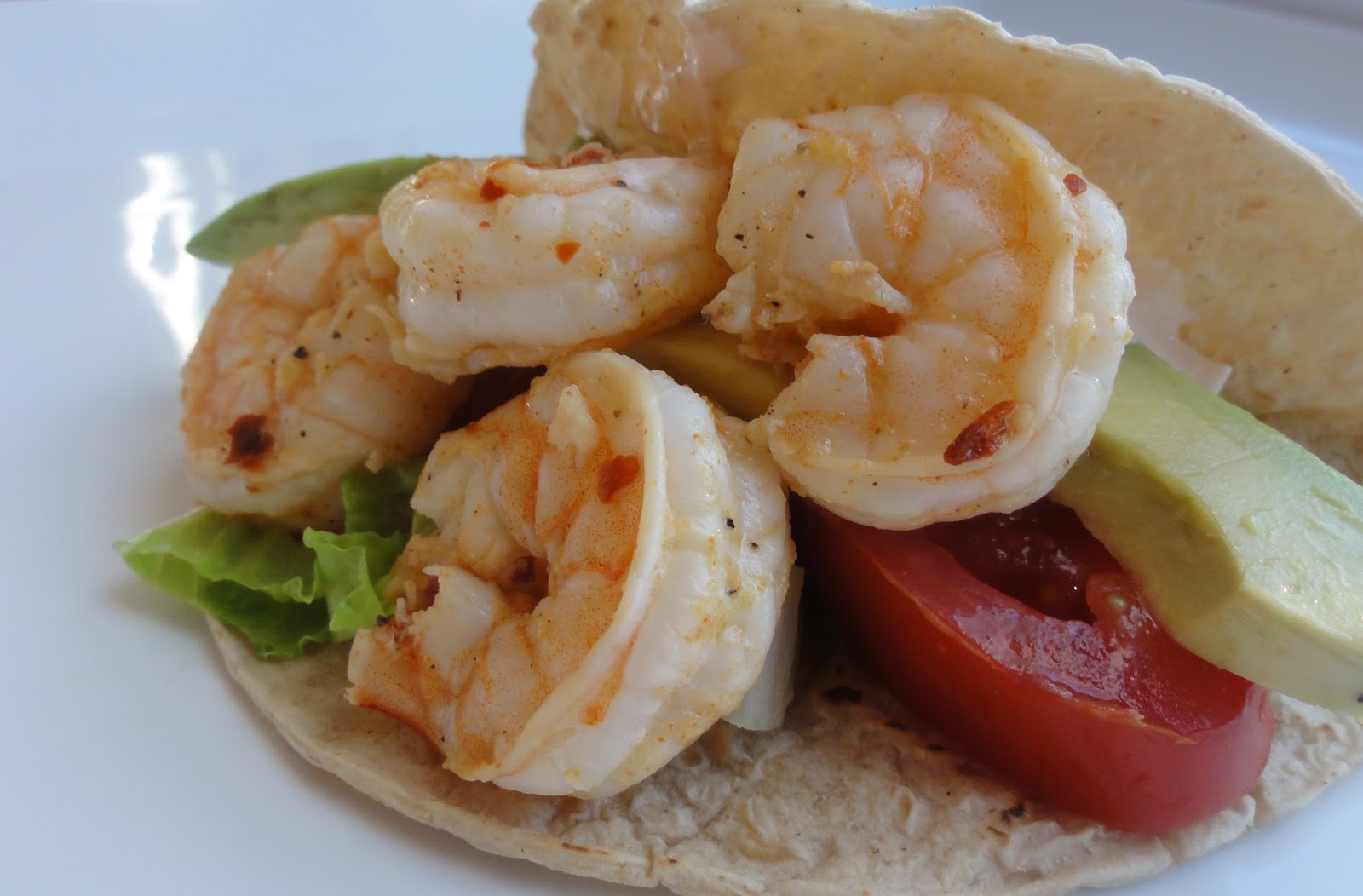 Southwestern Shrimp Soft Tacos Recipe — Dishmaps