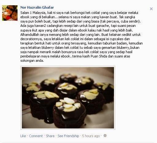 cara buat kek coklat tanpa telur