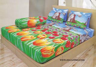 Sprei Lady Rose Tulip