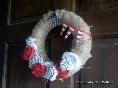 diy fourth of july decorations. for the fourth of July?