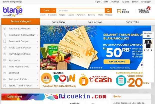 Cara Menjual Barang di Situs Blanja.com