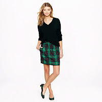 J. Crew City Mini in Dublin Tartan