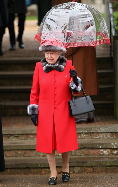 British Royal Family Attended Christmas Church Service