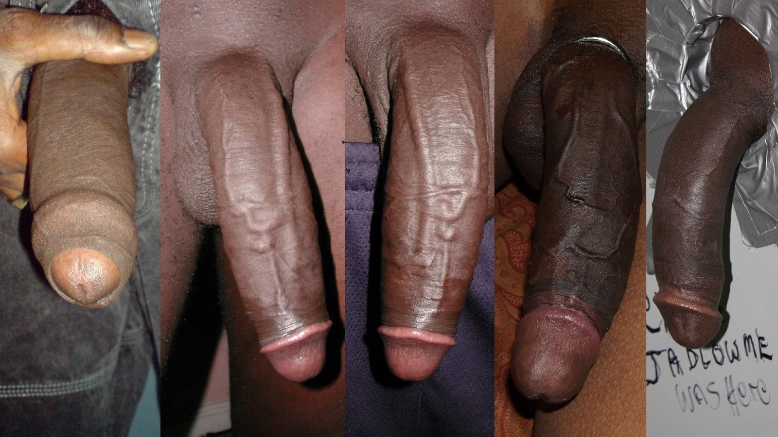Big black cock action