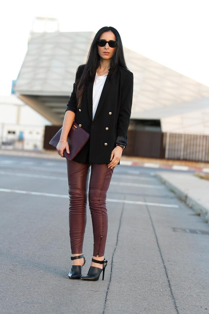 Ultimas-tendencias-Novedades-Primavera-Verano-2014-Adictaaloscomplementos-adicta-Cuero-piel Bloguera de moda y belleza de Valencia con look