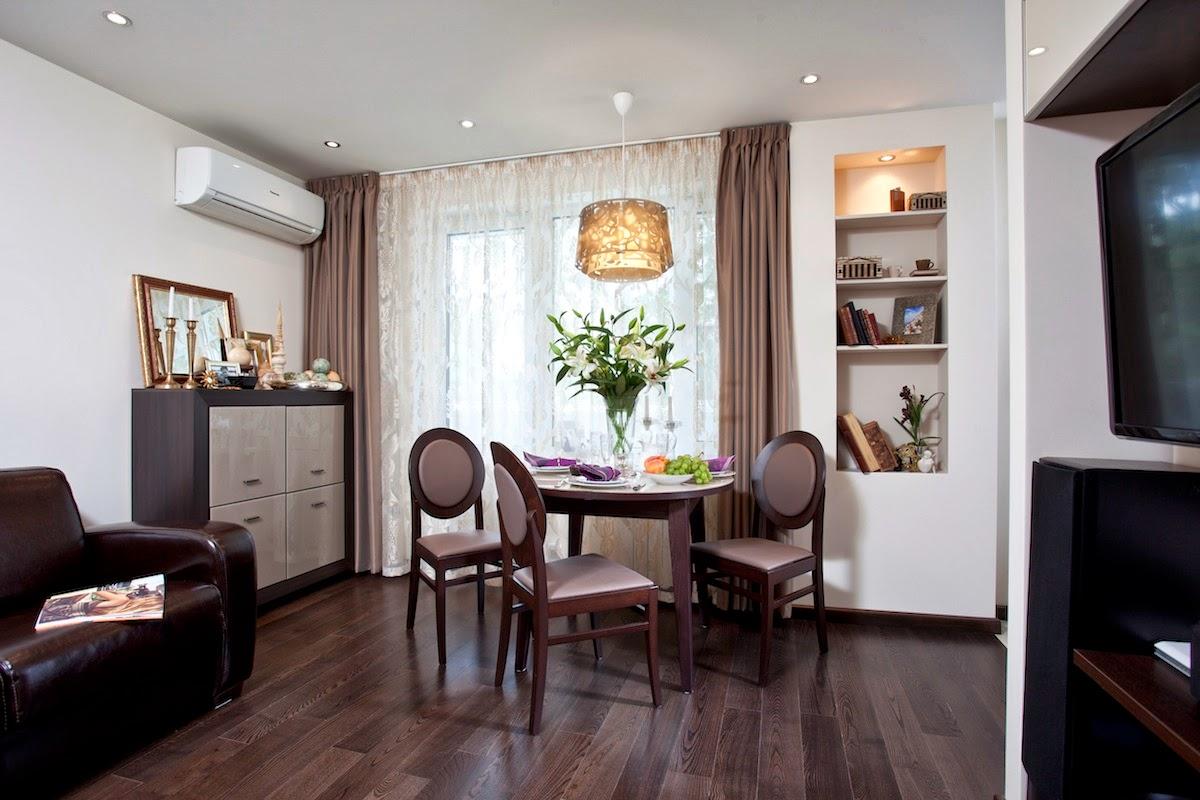 Дизайн однокомнатной квартиры: Интерьер квартиры-студии с ...: http://www.odnushechki.ru/2013/02/blog-post.html