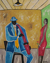 Saxophone Serenade (Sold)