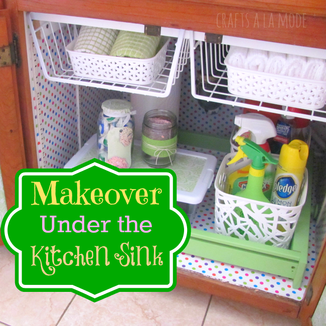 Under the Sink Makeover