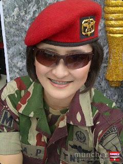 tentara republik indonesia kopasus cantik