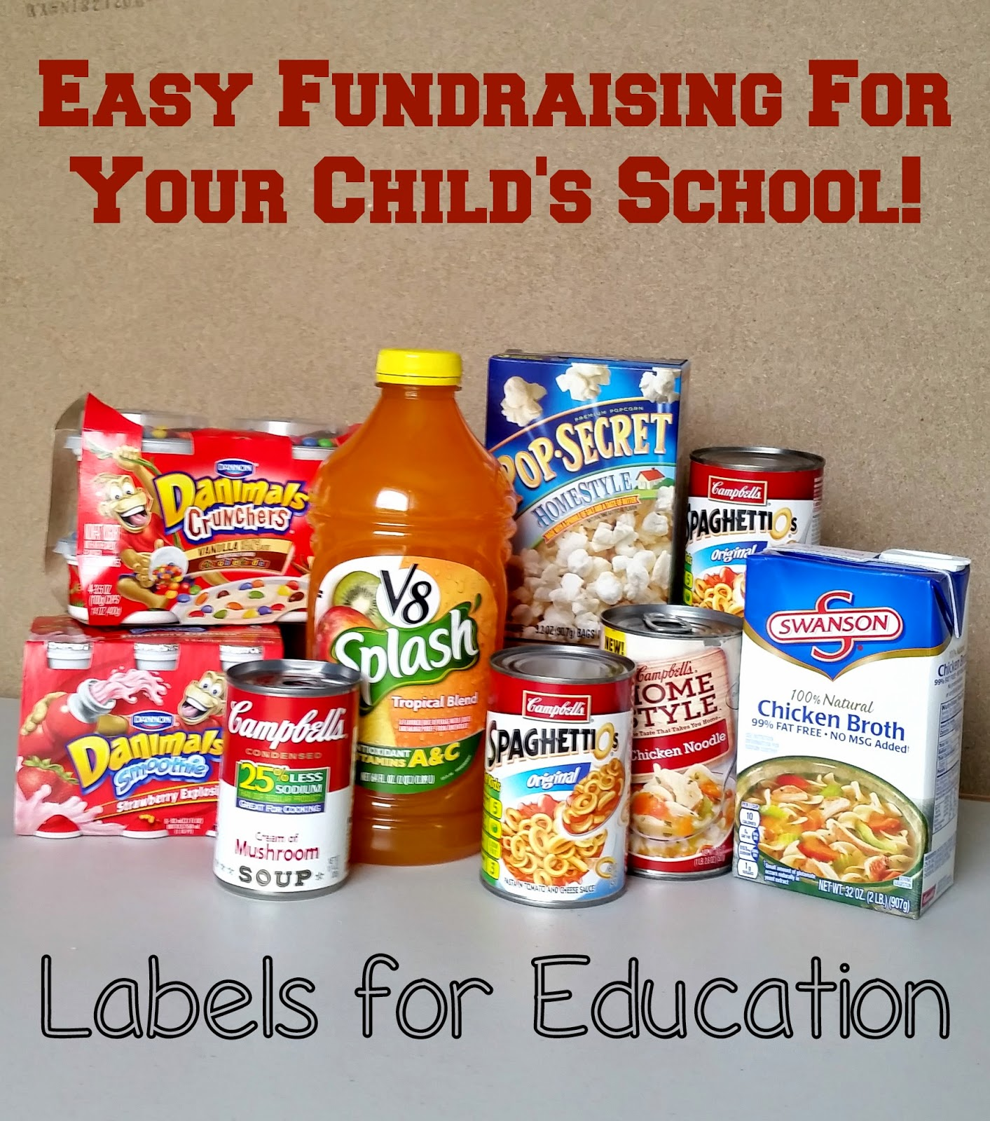 Easy Fundraising for your child's school with Labels for Education® #Labels4Edu #CollectiveBias
