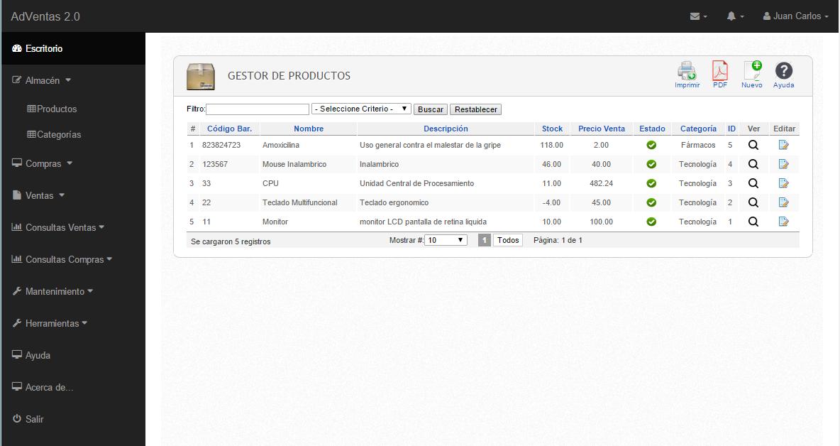 Código Sistema de Ventas en PHP y Mysql (Código de Barras ...