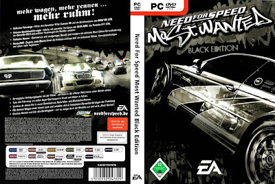 Jogo Need for Speed Most Wanted Black Edition PC DVD Capa