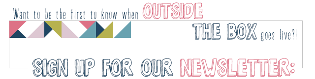 Sign up for Weekly Reminders for Outside [the Box] No. 1: Visit www.blackandwhiteobsession.com weekly to link up and be inspired #linkparty #outsidetheboxparty