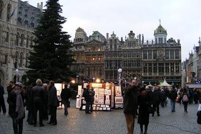 Grande Place, Bruxelles, Belgia