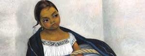 El óleo de Diego Rivera conocido como Niña con rebozo azul, es subastado en NY.