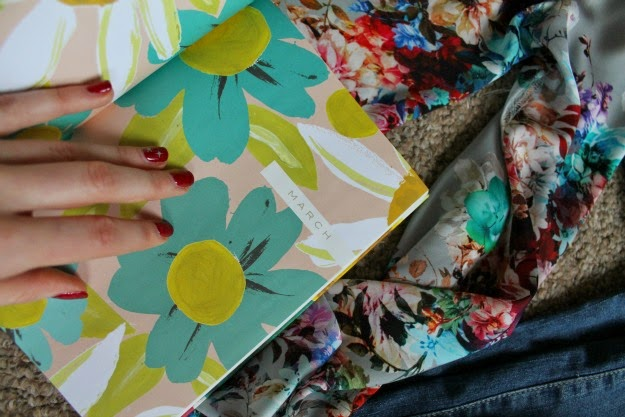 2015 floral diary