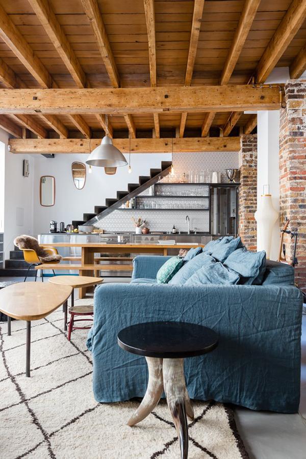 decoracion-mezcla-de-estilos-loft-estilo-parisino