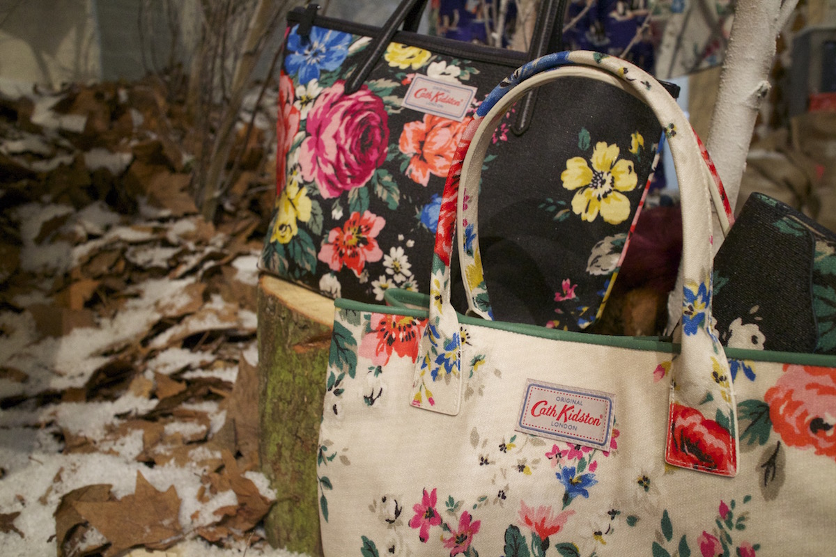 cath kidston floral bags aw15