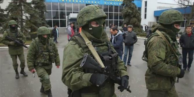 Ukraina dan rusia benar-benar terlibat perang terbuka kira-kira apa