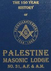 Update Research; Palestine Masonic Lodge; Click: