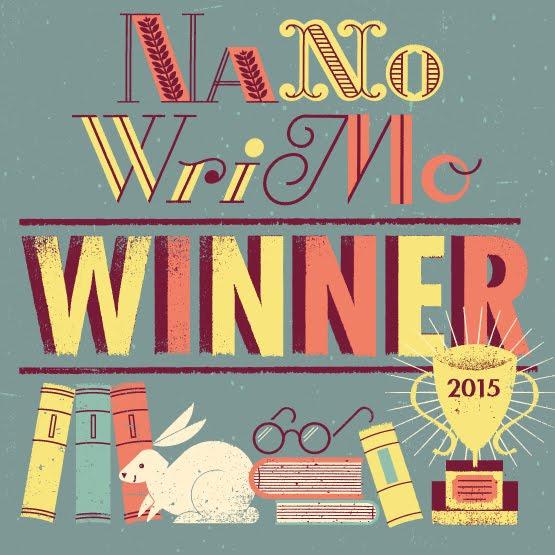 Proud to NaNo!