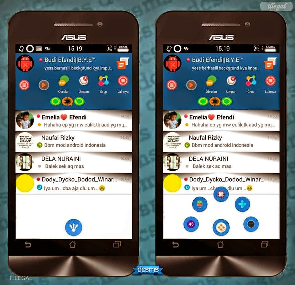BBM Mod Smophinx 2.7.0.23 + Hide Sponsor