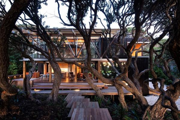 Auckland, New Zealand, Beach House