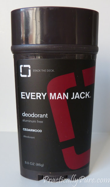 Every Man Jack Cedarwood natural deodorant