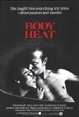 Afiche de 'Cuerpos ardientes'