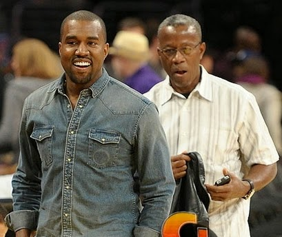 kanye west father