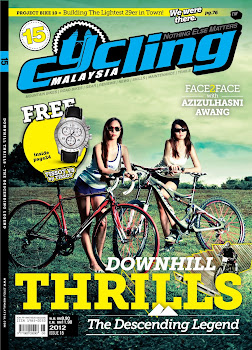 CYCLING MALAYSIA LASTEST ISSUE