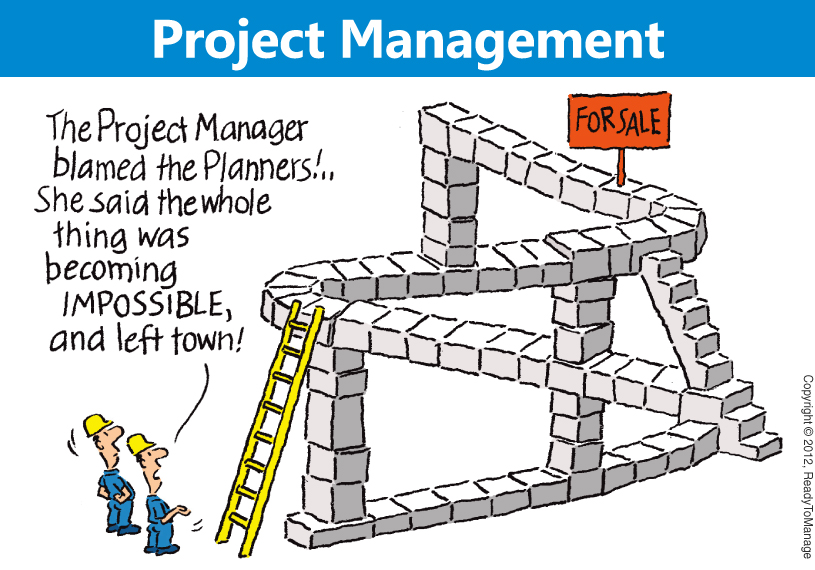Construction Manager Cartoon : My uci project management journey