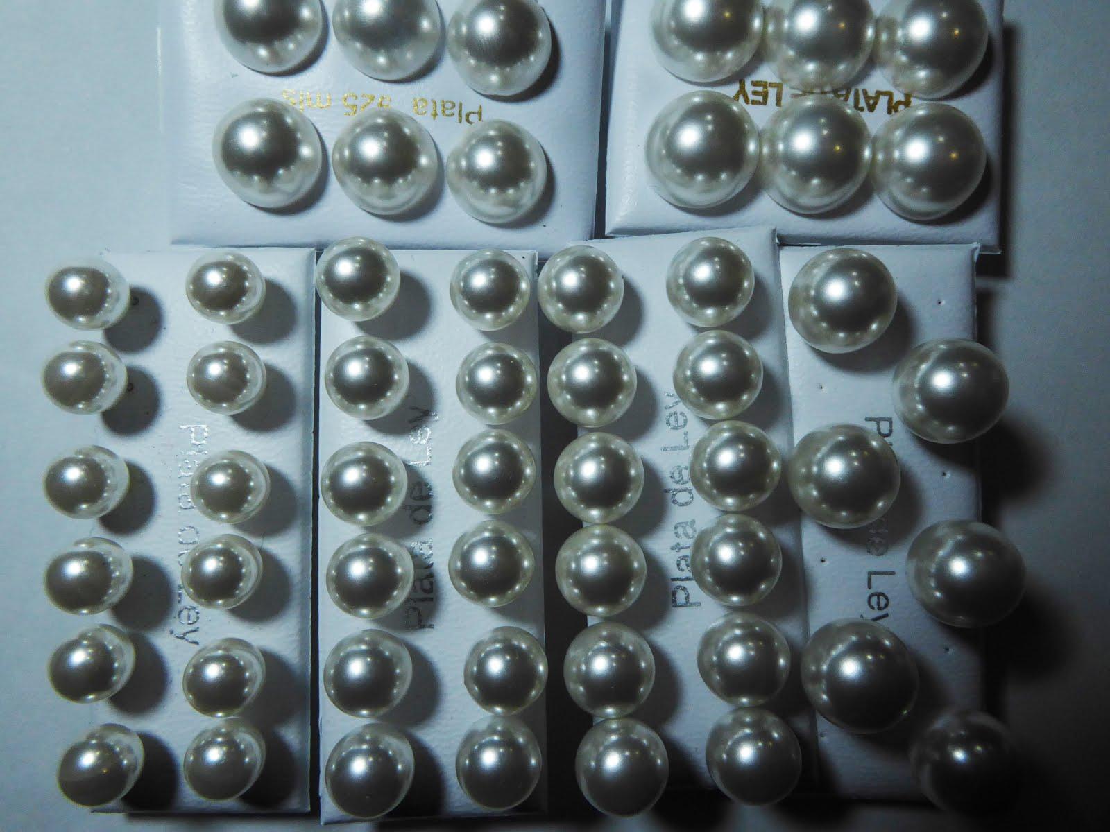 Los pendientes clásicos de perla