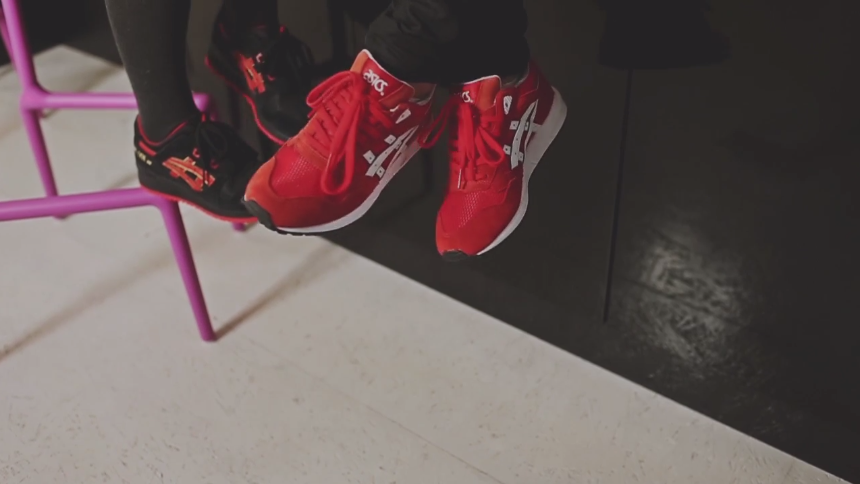 asics valentines day pack get lyte iii gel saga love womens release release reminder