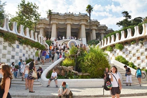 entrada barcelona espanha