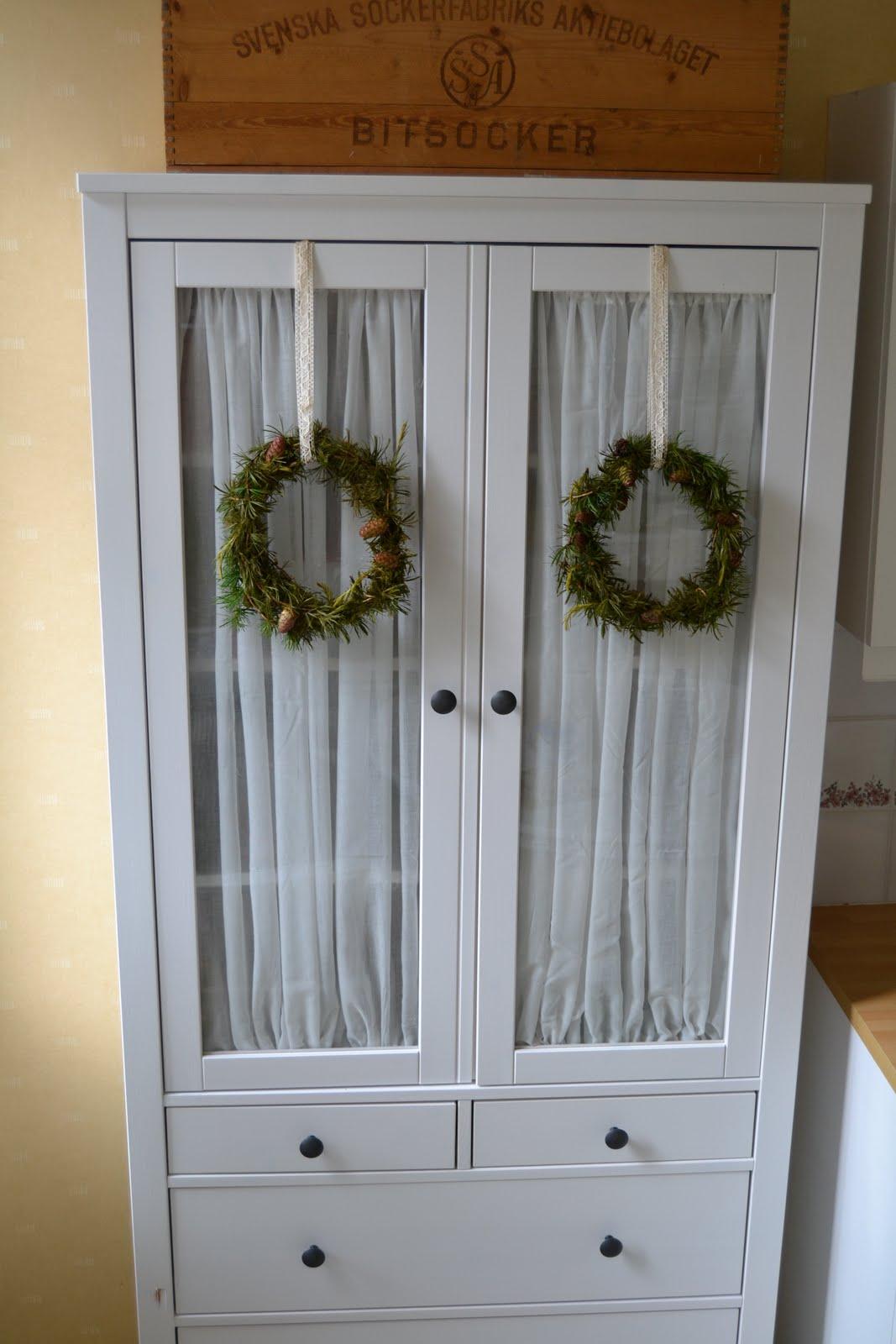 Gardin Till Koksfonster Ikea : SMULTRONLYCKA Vitrinskop fron IKEAs fyndhorna