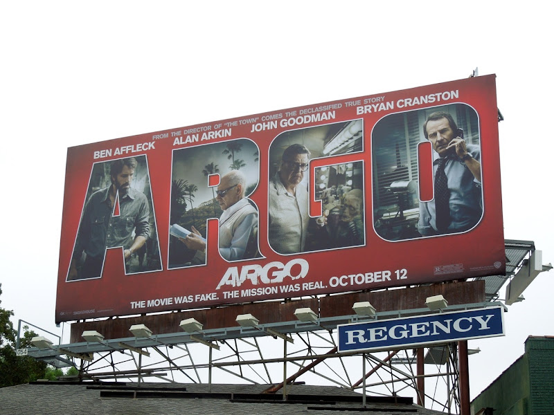 Argo movie billboard Sunset Boulevard