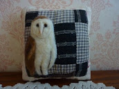 SOLD - Owl Pillow