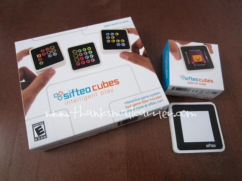 Sifteo Cubes set